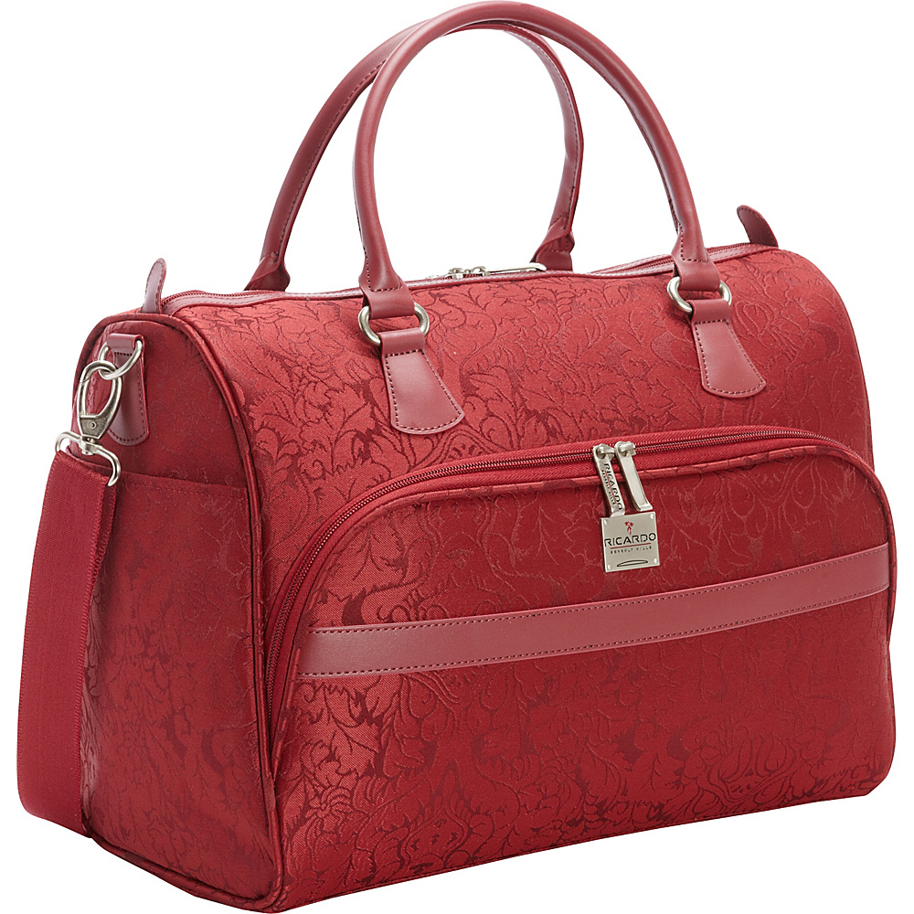 "Ricardo Beverly Hills Imperial 16"" Shoulder Tote Red - Ricardo Beverly Hills Luggage Totes and Satchels"