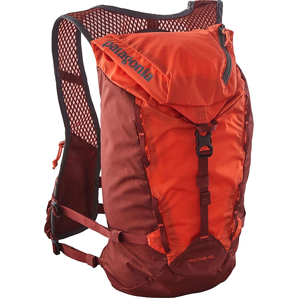Patagonia Nine Trails Pack 15L - L/XL Cusco Orange - Patagonia Day Hiking Backpacks - Outdoor, Day Hiking Backpacks