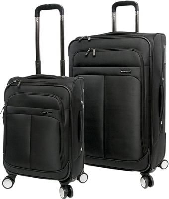 Perry Ellis Prodigy Lightweight 2Pc Spinner Luggage Set Black - Perry Ellis Luggage Sets