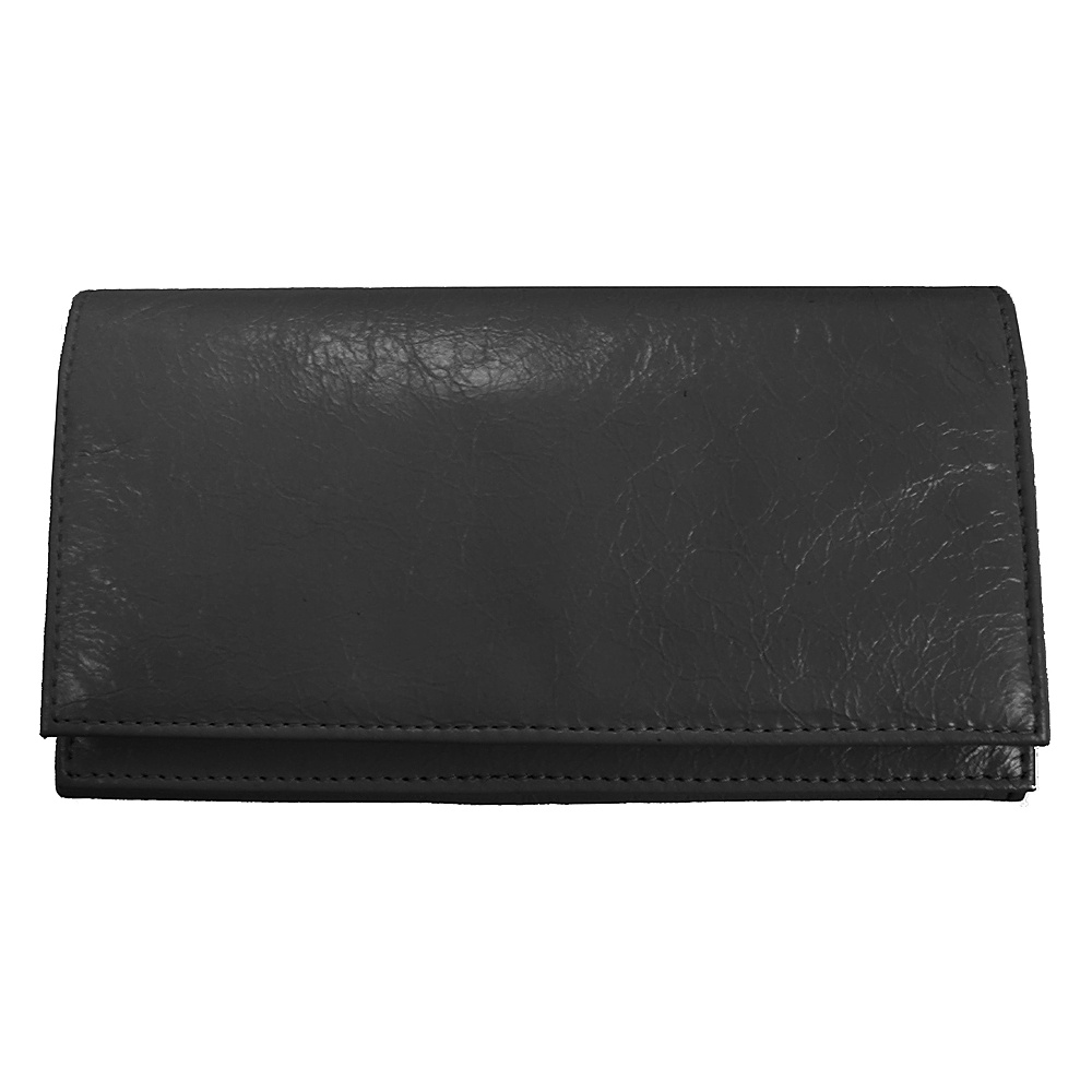 Latico Leathers Yasmin Wallet Black - Latico Leathers Womens Wallets - Women's SLG, Women's Wallets