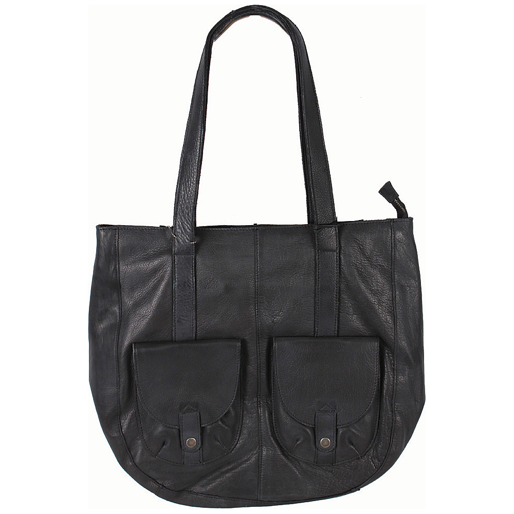 Latico Leathers Broome Tote Black - Latico Leathers Leather Handbags - Handbags, Leather Handbags