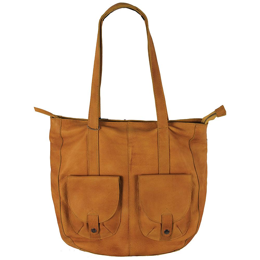 Latico Leathers Broome Tote Yellow - Latico Leathers Leather Handbags - Handbags, Leather Handbags