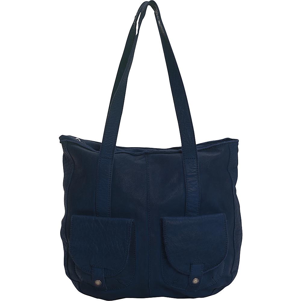 Latico Leathers Broome Tote Navy - Latico Leathers Leather Handbags - Handbags, Leather Handbags