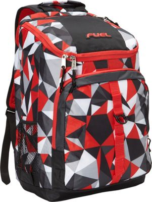 Fuel Top Loader Backpack Crystal Clear - Fuel Everyday Backpacks