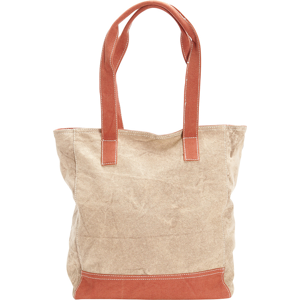 Sun N Sand Ashbury Zip Top Tote Toast - Sun N Sand Gym Bags - Sports, Gym Bags