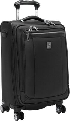 Travelpro Platinum Magna 2 Expandable Spinner Luggage - 21 inch Black - Travelpro Softside Carry-On