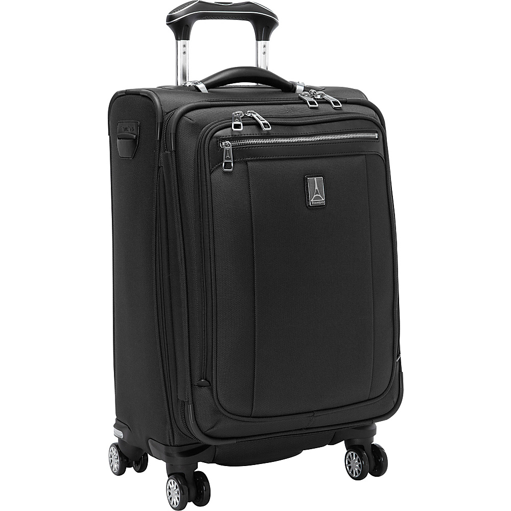 "Travelpro Platinum Magna 2 Expandable Spinner Luggage - 21"" Black - Travelpro Softside Carry-On"