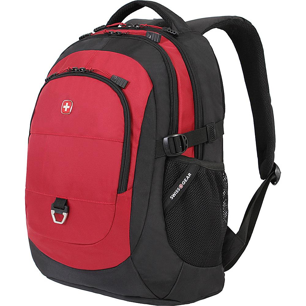 SwissGear Travel Gear 18 Laptop Backpack 1190 Black Red SwissGear Travel Gear Business Laptop Backpacks