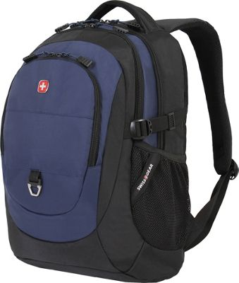 SwissGear Travel Gear 18 inch Laptop Backpack 1190 Black / Navy - SwissGear Travel Gear Business & Laptop Backpacks