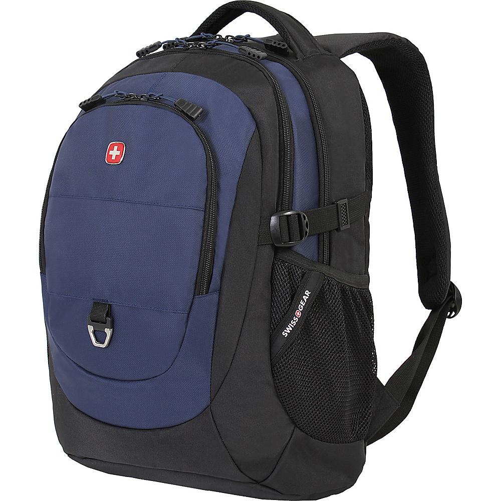 SwissGear Travel Gear 18 Laptop Backpack 1190 Black Navy SwissGear Travel Gear Business Laptop Backpacks