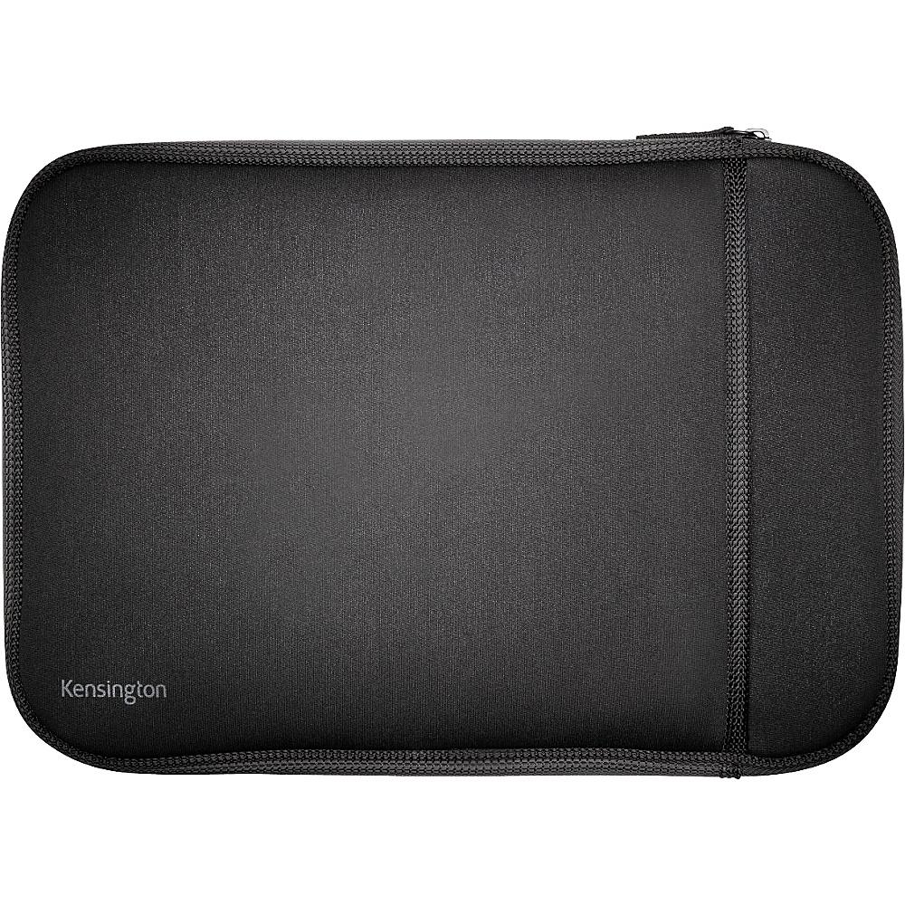 Kensington Universal Chromebook Laptop Sleeve with Handle 14 Black Kensington Electronic Cases