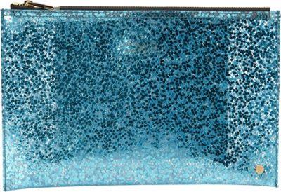 deux lux Bubbles Pouch Turquoise - deux lux Manmade Handbags