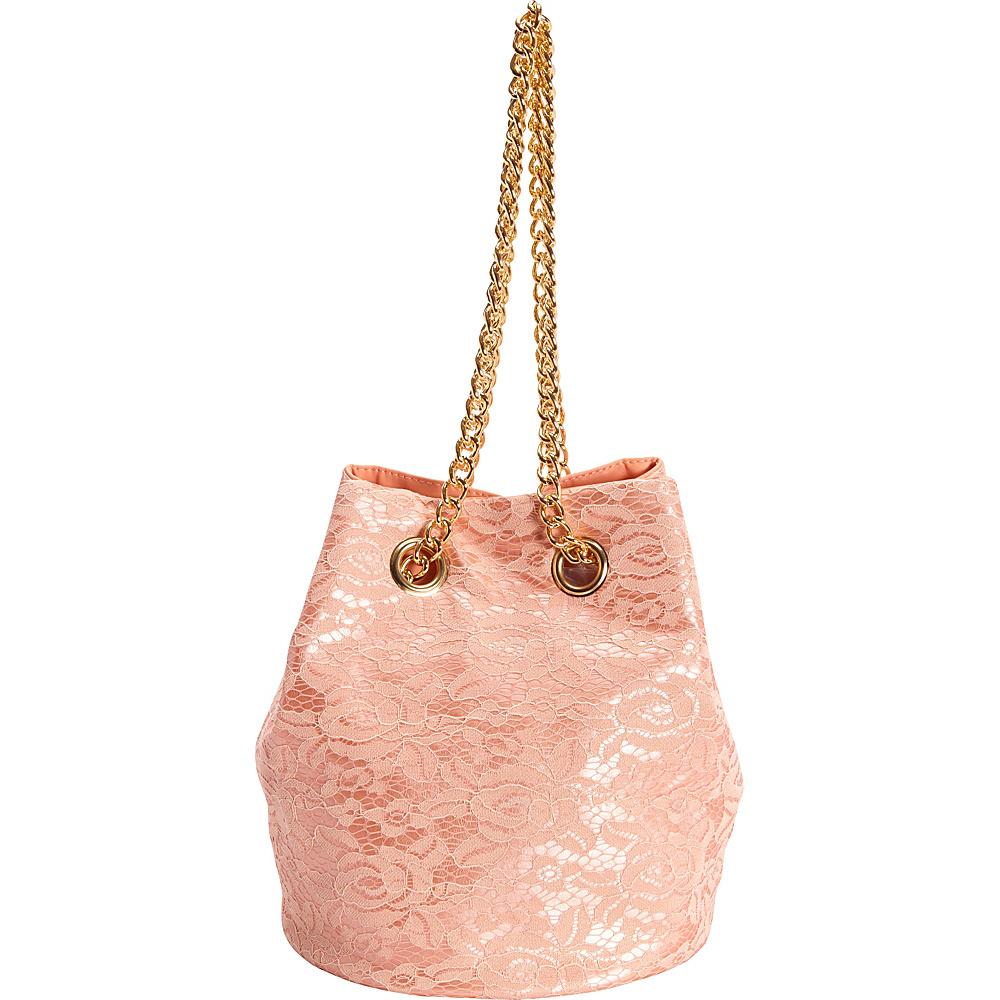 SW Global Omie Chain Strap Shoulder Bag Pink - SW Global Manmade Handbags