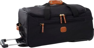 BRIC'S X-Bag 21 Rolling Duffle Black - BRIC'S Kids' Luggage
