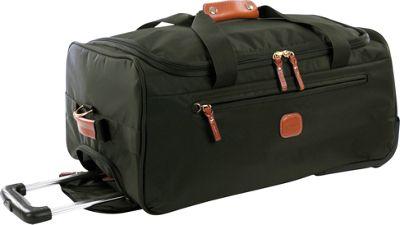 BRIC'S X-Bag 21 Rolling Duffle Olive - BRIC'S Kids' Luggage
