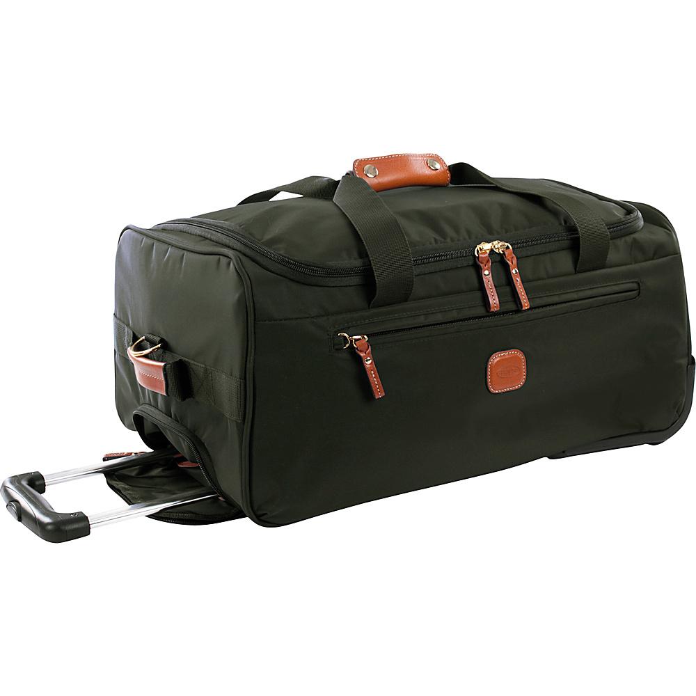 BRIC S X Bag 21 Rolling Duffle Olive BRIC S Rolling Duffels
