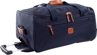 BRIC'S X-Bag 21 Rolling Duffle Navy - BRIC'S Kids' Luggage