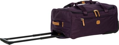 BRIC'S X-Bag 21 Rolling Duffle Violet - BRIC'S Kids' Luggage