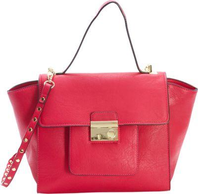 Diophy Studded Satchel Pink - Diophy Manmade Handbags