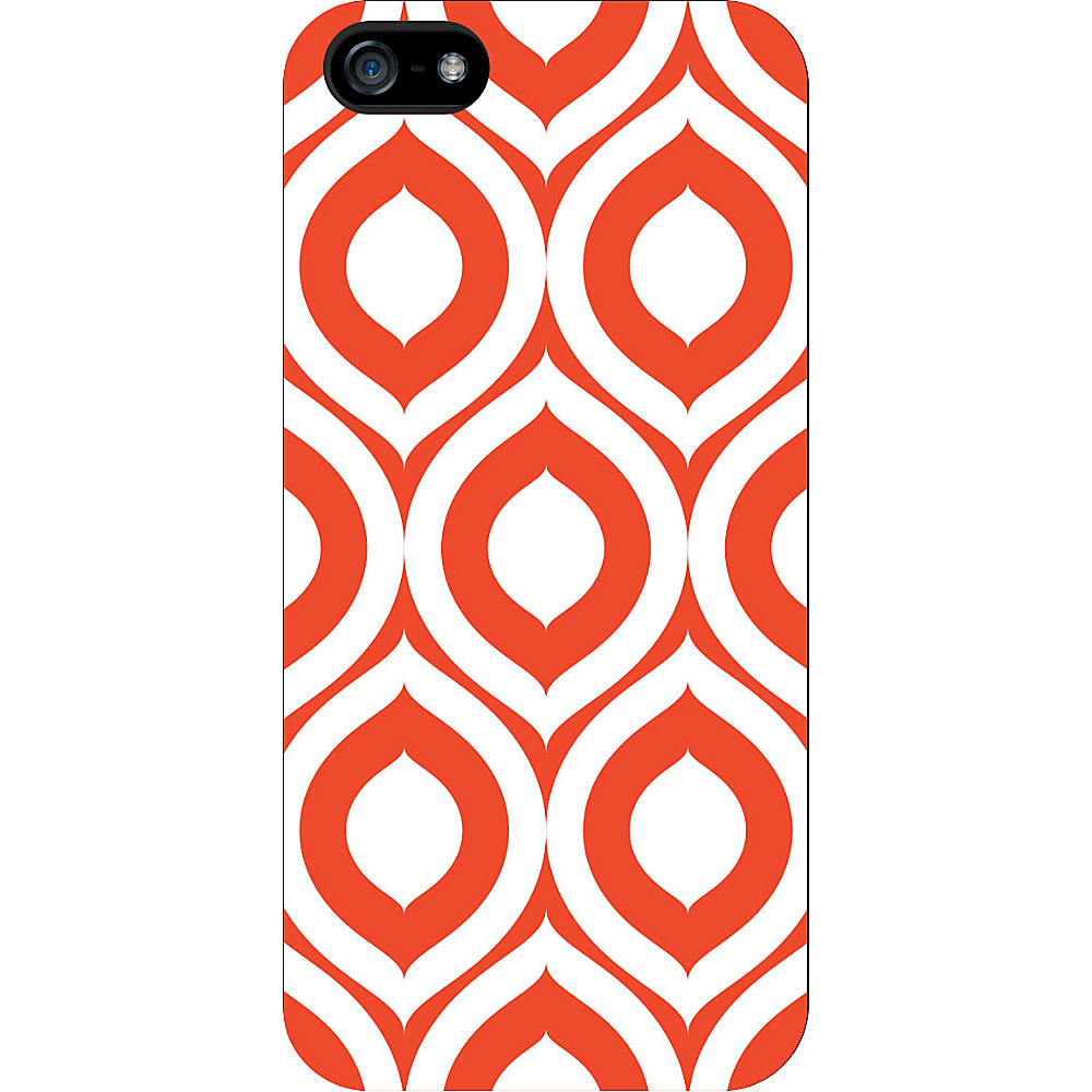 Centon Electronics OTM Classic White iPhone SE 5 5S Case Elm Bold Collection Orange Centon Electronics Electronic Cases