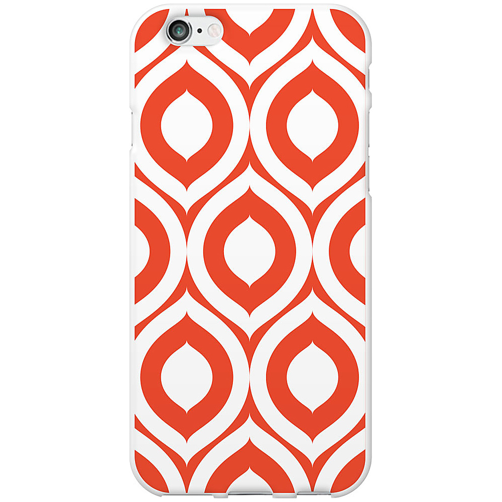 Centon Electronics OTM Classic White iPhone 6 Case Elm Bold Collection Orange Centon Electronics Electronic Cases