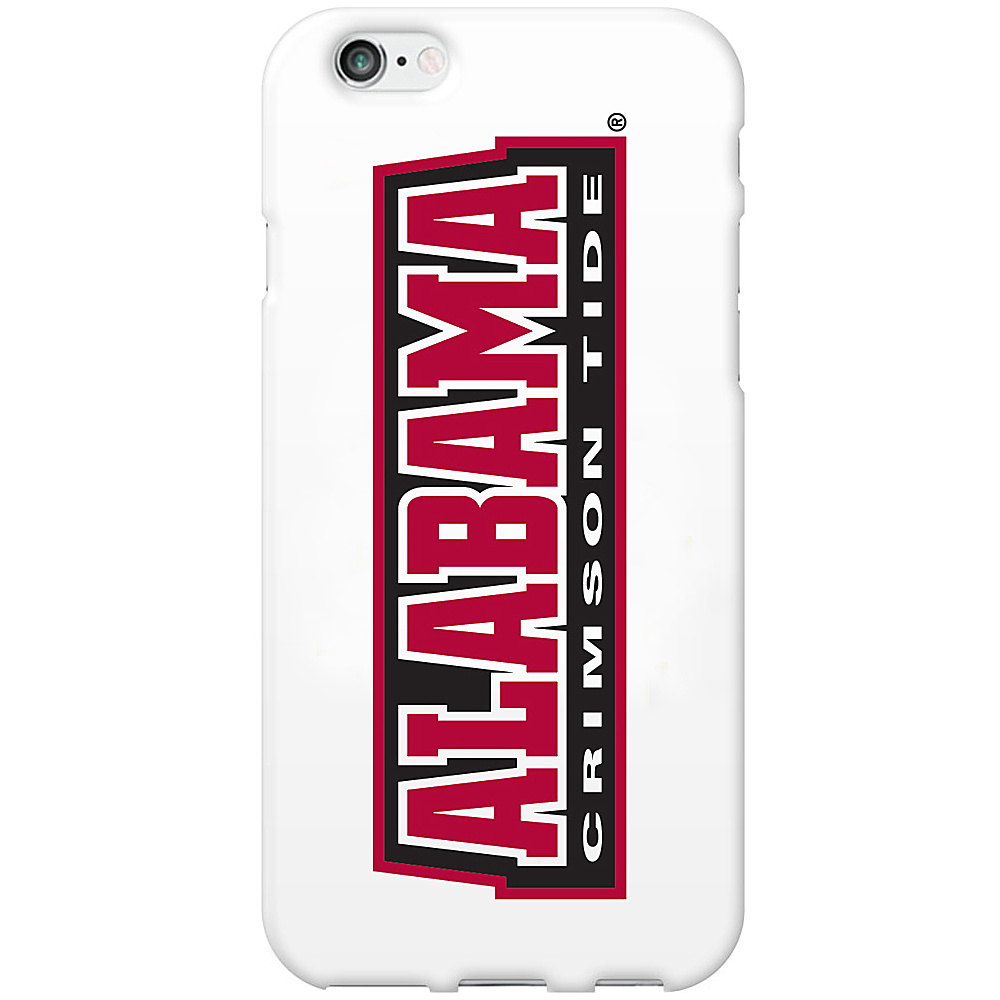 Centon Electronics Classic Glossy White iPhone 6 Case University of Alabama Centon Electronics Electronic Cases