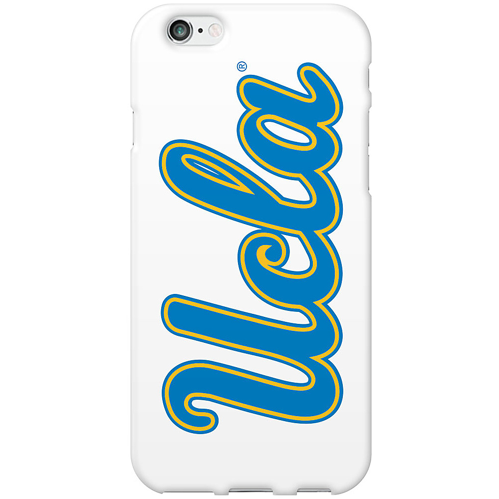 Centon Electronics Classic Glossy White iPhone 6 Case UCLA Centon Electronics Electronic Cases