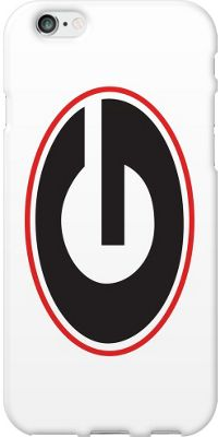 Centon Electronics Classic Glossy White iPhone 6 Case University of Georgia - Centon Electronics Electronic Cases