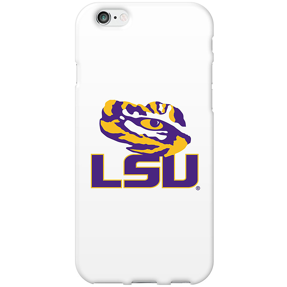 Centon Electronics Classic Glossy White iPhone 6 Case Louisiana State University Centon Electronics Electronic Cases