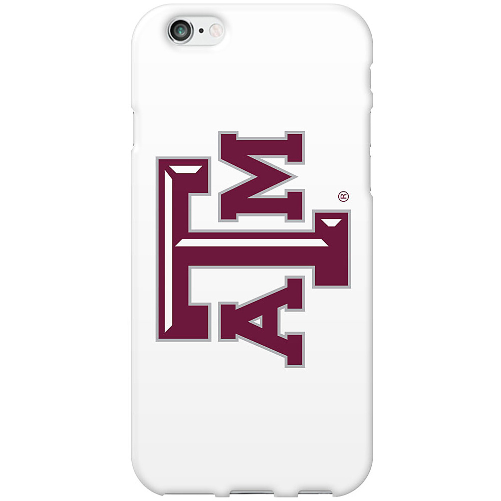Centon Electronics Classic Glossy White iPhone 6 Case Texas A amp;M Centon Electronics Electronic Cases
