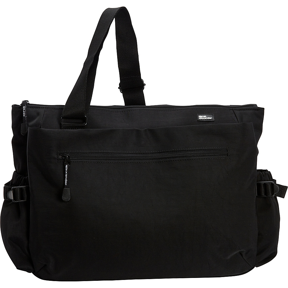 Derek Alexander Large E/W Multi-Function Diaper Bag Black - Derek Alexander Diaper Bags & Accessories - Handbags, Diaper Bags & Accessories