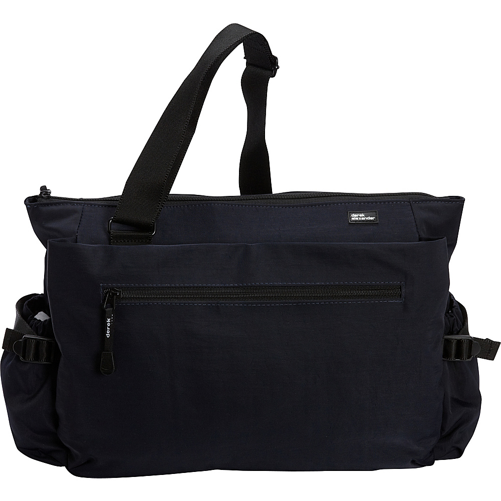 Derek Alexander Large E/W Multi-Function Diaper Bag Navy - Derek Alexander Diaper Bags & Accessories - Handbags, Diaper Bags & Accessories