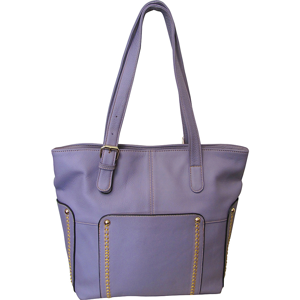 AmeriLeather Madelinne Handbag Dahlia - AmeriLeather Leather Handbags - Handbags, Leather Handbags