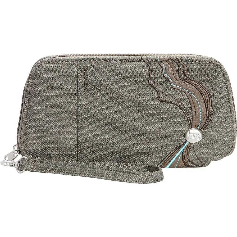 Haiku Fortitude Wristlet Cactus Haiku Fabric Handbags