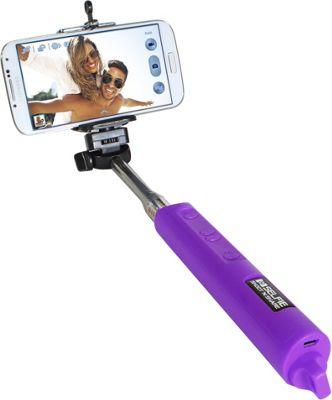 Digital Treasures Selfie Shoot N Share Bluetooth Selfie Stick Purple - Digital Treasures Camera Accessories