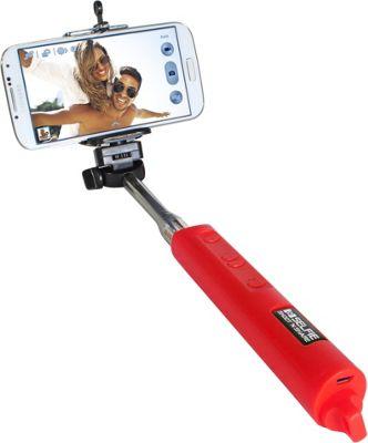 Digital Treasures Selfie Shoot N Share Bluetooth Selfie Stick Red - Digital Treasures Camera Accessories