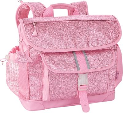 Bixbee Medium Sparkalicious Kids Glitter Backpack Pink - Bixbee Kids' Backpacks