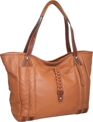 Nino Bossi Jara's Manhattan Tote Cognac - Nino Bossi Leather Handbags
