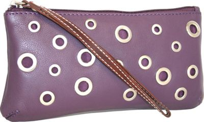 Nino Bossi The Eyes Have It Wallet Grape - Nino Bossi Designer Handbags