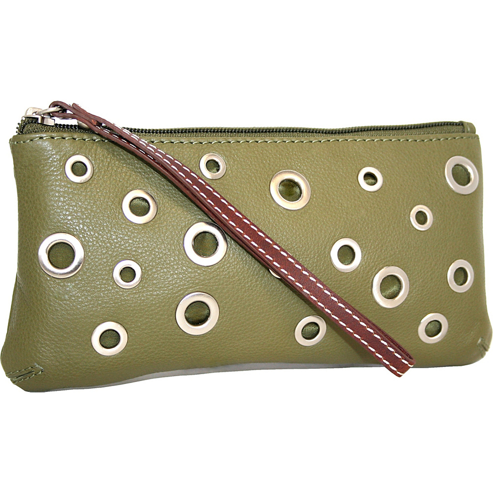 Nino Bossi The Eyes Have It Wallet Loden - Nino Bossi Designer Handbags - Handbags, Designer Handbags