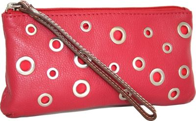 Nino Bossi The Eyes Have It Wallet Red - Nino Bossi Designer Handbags