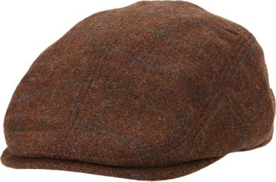 Ben Sherman Multi-Pattern Driver Hat S/M - Coffee - Ben Sherman Hats/Gloves/Scarves