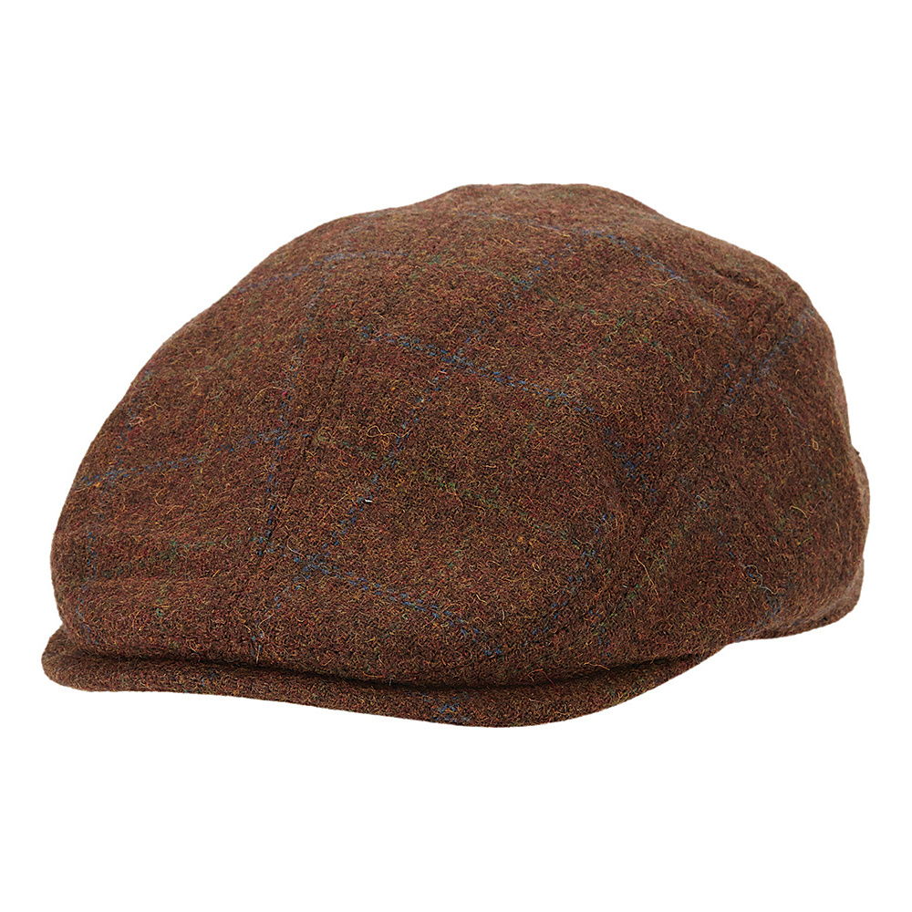 Ben Sherman Multi Pattern Driver Hat Coffee Large Extra Large Ben Sherman Hats Gloves Scarves