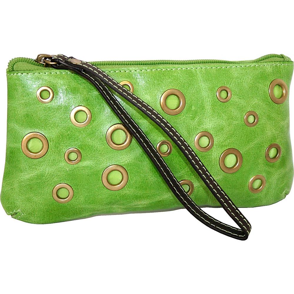 Nino Bossi Eye Eye Wallet Apple Green Nino Bossi Women s Wallets