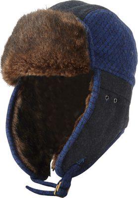 Original Penguin Morgan Trapper Hat S/M - Black - Original Penguin Hats/Gloves/Scarves
