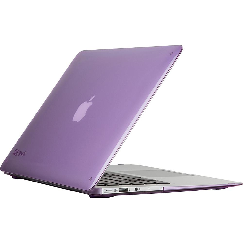 Speck 13 MacBook Air Smartshell Case Haze Purple Speck Non Wheeled Business Cases