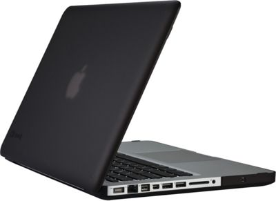 Speck 13 inch MacBook Pro Seethru Satin Case Black - Speck Electronic Cases