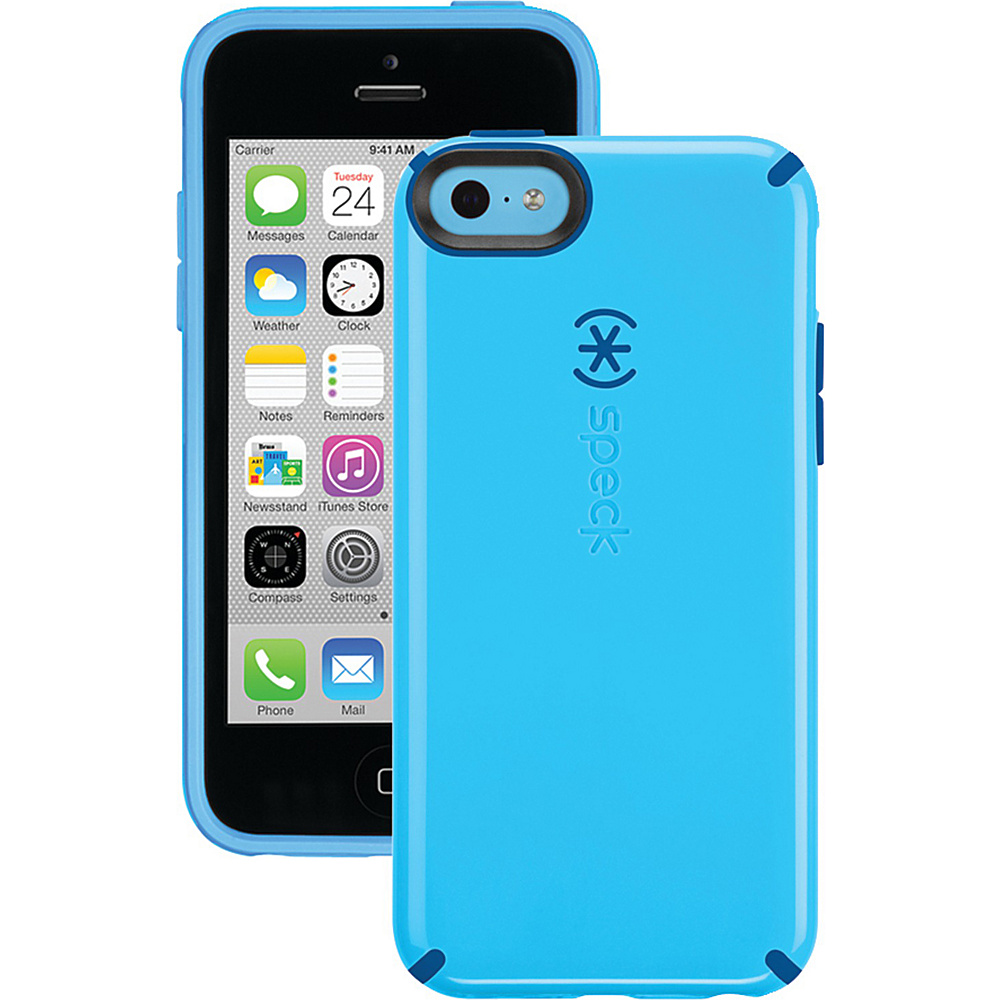 Speck iPhone 5c Candyshell Case Lagoon Blue Deep Sea Blue Speck Electronic Cases