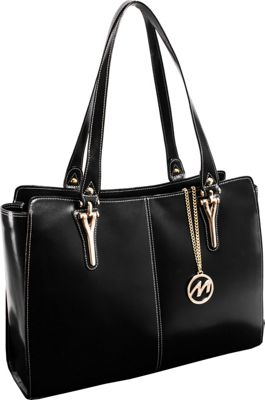 McKlein USA Glenna Tote Black - McKlein USA Women's Business Bags