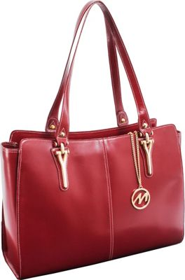 McKlein USA McKlein USA Glenna Tote Red - McKlein USA Women's Business Bags
